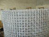 Het vierkante Decoratieve Roestvrij staal Geweven Geplooide Netwerk van de Draad