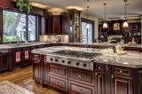 De moderne Stevige Houten Keukenkast Prima van het Ontwerp van de Luxe