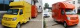 3 van de Kleine van de Mobiele Opslag van het Voertuig ton Vrachtwagen Van uitstekende kwaliteit van het Voedsel voor Verkoop
