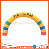 Custom Beautiful Inflatable Rainbow Arch