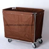 Chariot de blanchisserie professionnel d'acier inoxydable /Hotel nettoyant le chariot de service (SITTY 90.3202)
