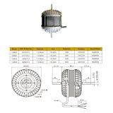 240V a la derecha/izquierda Aspirador de rotación del motor de Polo sombreado inducido