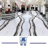 La Chine Panda poli naturelles en pierre blanche pour cuisine/salle de bains en marbre/mur/Flooring/étape/Tile/gaine optique