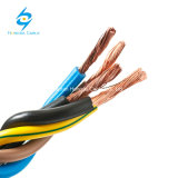 La transmisión de potencia utilizó el cable forrado PVC flexible industrial del cobre RV-K