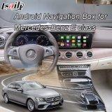 Navegador video Android do GPS da relação do melhoramento do carro HD para o Benz E