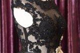 شريط أسود بلّوريّة ينظم [سقوين] قصيرة مساء ثوب