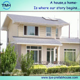 Зеленая Prefab живущий дом для большой семьи