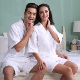 Bathrobe relativo à promoção do hotel/os Home pijama/Nightwear do Waffle do algodão/