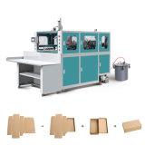 Rectángulo de papel acanalado automático que forma la máquina