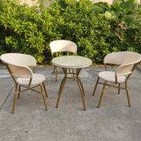 ([سب-وك379]) مقهى تجاريّة يستعمل ألومنيوم خارجيّ كرسي تثبيت وطاولة مجموعة