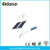 300W fora do vento híbrido do gerador da grade da luz de rua solar do sistema de energia