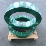 75kg Rolo jumbo verde suave fita de poliéster