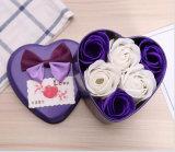 송신하십시오 가족, 로즈 선물 상자 Handmade 비누 (YB-SP-459)를 가진 결혼식을 송신하기 위하여 친구를