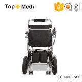 Topmedi 16kg Portable Lightweight Small Folding Electric Wheelchair
