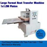 Máquina de transferencia de calor de gran formato con el doble de la estación de diapositiva