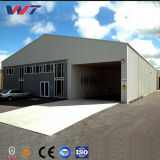Proyecto de construcción de bajo coste de estructura de acero de la luz de la construcción de Marco Taller modular