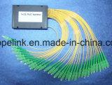 Pon/CATV/FTTHのためのGponのテレコミュニケーション1X32 Blockless PLCのディバイダー