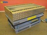 Hydraulischer bedienter Schwenktisch auf hydraulischem Scissor Aufzug-Tisch für die Farbanstrich-Werkstatt