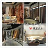 Um design mais pequeno turco Chenille tecido de revestimento acrílico para sofá e móveis