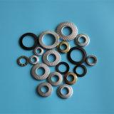 L'ENF25-511 dentelées en acier inoxydable M8 rondelle élastique conique