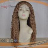 絹の上の人間の毛髪の完全なレースのかつら(PPG-l-01348)