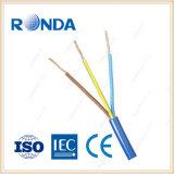 koper flexibele elektrische kabel 3 kern 1.5 sqmm