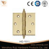 2BB Porta dobradiça do bloqueio de topo de latão com cabeça esférica (hg-1051)