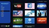 Amlogic Quad Core Miracast IPTV de support de boîte