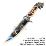 戦術的な存続のナイフのゾンビのハンドル35cm