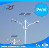 Fuente de luz solar de las luces 30W LED con la iluminación de los 7m poste 12 horas/noche