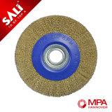 Qualitäts-Kreisdraht-Rad-Pinsel, abschleifende Pinsel-Rolle