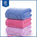 Toalhas de banho da alta qualidade da maquineta da tela de algodão para as matérias têxteis Home