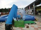 L'eau gonflable Ball Balle de marche de l'eau avec l'Allemagne TPU0.8mm Tizip et de matériel ou le PVC 1.0mm