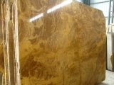 Les carreaux de marbre naturel de l'intérieur Golden/cuivre carreaux de marbre jaune
