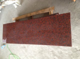 Encimera de granito rojo sudafricano / Cocina de alta calidad Tops