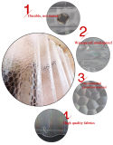 3D는 목욕탕 세트를 위한 PEVA에 의하여 주문을 받아서 만들어진 샤워 커튼 제품을 인쇄했다