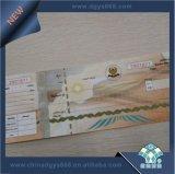 Biglietto del documento termico