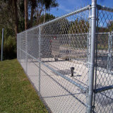 Cerca usada revestida Fence/PVC do jardim da ligação Chain do jardim