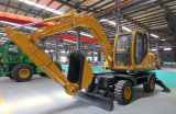 Customized Auger Wheel Excavator with Better Performance Than Crawler