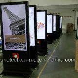 55polegadas LCD permanente gratuito supermercado visor digital LED de publicidade de mídia de vídeo
