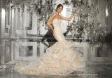 Trägerloses bräutliches formales Kleid-Nixe-Spitze-Hochzeits-Kleid A201793