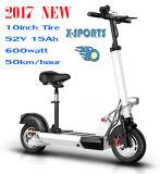 Grande motorino elettrico del motociclo di Citycoco Harley della rotella di Hotsale