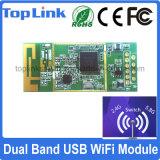 Top-5m01 802.11AC Dual módulo encaixado USB da faixa 600Mbps Mt7610u WiFi para caixa superior ajustada