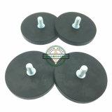 磁石ゴム製上塗を施してあるD66を保持するネオジムの鍋の磁石