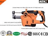 Marteau rotatoire électrique de l'outil 900W de Nenz avec le dépoussiérage (NZ30-01)