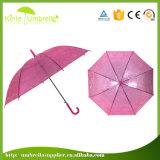 Guarda-chuva reto transparente aberto do automóvel novo do projeto do guarda-chuva do ponto de entrada