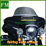 Acento do respiradouro da carenagem do cromo para Harley '14- '17 que excursionam