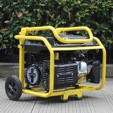 Generatore portatile della benzina di piccolo uso domestico raffreddato ad aria del bisonte
