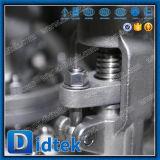 Didtek rf conclude la valvola d'arresto dell'acciaio inossidabile CF3m dell'acciaio di getto