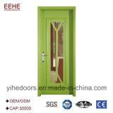 다채로운 색칠 공상 나무로 되는 문 단순한 설계